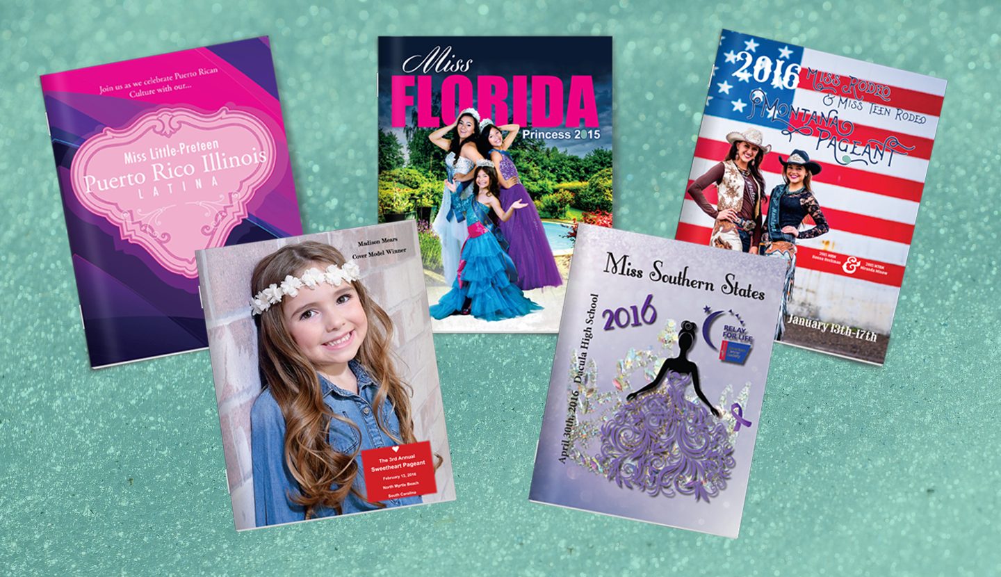 your pageant program printing guide
